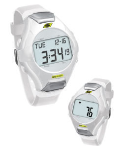 Skechers Wrist Band Watch & Heart Rate Monitor - White