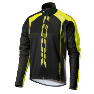 Look Men's Pro Team Jacket - Black/Fluorescent Yellow