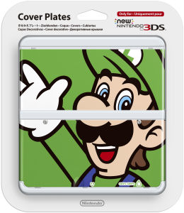 New 3DS Luigi Cover Plate