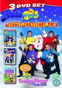 The Wiggles: Christmas Triple (Yule be Wiggling / Santa's ... Wiggles Dorothy The Dinosaur Dvd