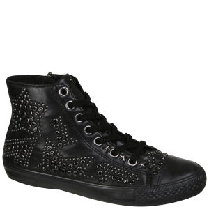 Ash Women's Vibration Bis Hi-Top Trainers - Black