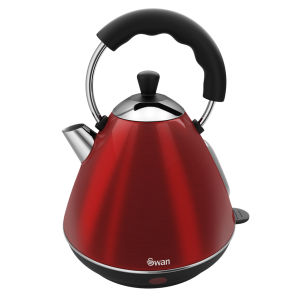 Swan 2 Litre Pyramid Kettle - Rouge