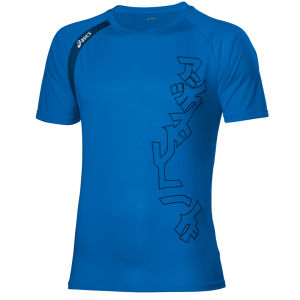 Asics Men's Performance Multi Graphic T-Shirt - Speed Blue