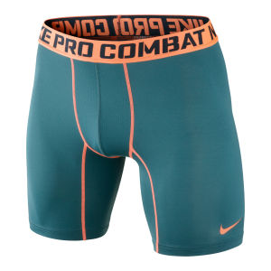 Nike Men's Core Compression 6 Inch Shorts 2.0 - Green