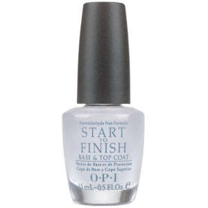BASE DE UÑAS Y CAPA SUPERIOR OPI START TO FINISH - SIN formaldehído (15ml)