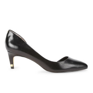 Ted Baker Women's Zenadia Leather Kitten Heels - Black
