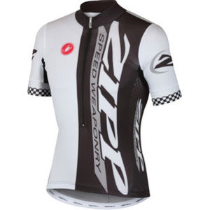 Castelli Zipp Aero Race Jersey Black/White