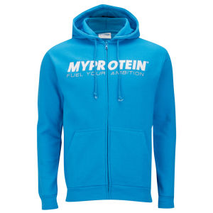 Myprotein Zip Through Hooded Sweat - Blue