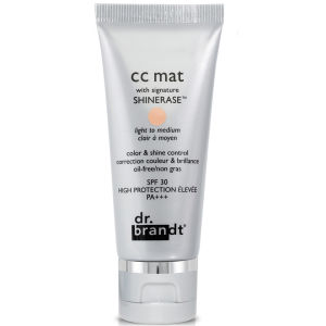Dr. Brandt CC Matte With Signature Shinerase - Light To Medium (30g)
