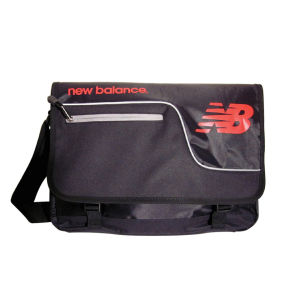 New Balance Sprint Messenger Bag - Black/Red/Silver