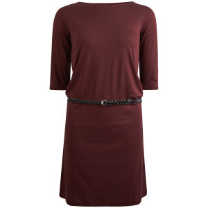 Sessun Women's Winter Rainbow Dress - Marsala