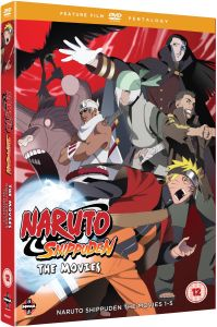 Naruto Shippuden Movie Pentalogy (Contains Naruto Shippuden Movies 1-5)