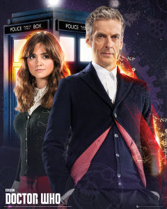 Doctor Who Doctor and Clara - Mini Poster - 40 x 50cm
