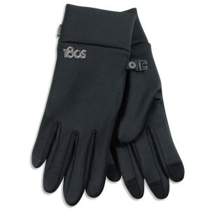 180s Men's Performer Stretch Fleece Liner Gloves - Black