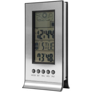 Desktop Weather Station with Built in Alarm Clock