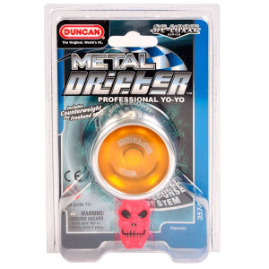 Duncan Metal Drifter Yo-Yo - Silver/Orange