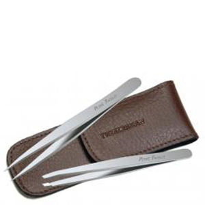 Tweezerman Petite Tweeze® Set - Brown Case