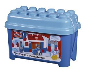 Mega Bloks Patrol Adventure Tub