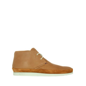 Paul Smith Shoes Men's Loomis Rich Leather Boots - Cognac