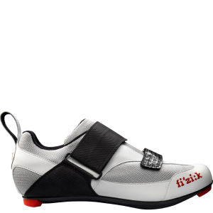 Fizik K5 Triathlon Shoe - Silver/White