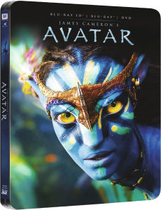 Avatar 3D (enthält 2D Version) - Zavvi exklusives Limited Edition Steelbook