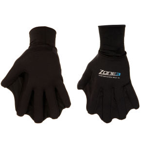 Zone3 Unisex Swim Gloves - Black