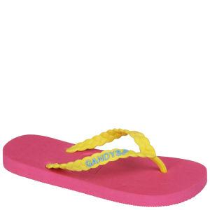 Gandys Women's Flip Flops - Miami Pink