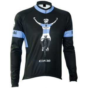 Bianchi Men's Favara Long Sleeve Jersey - Black