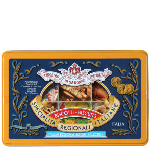 Italian Biscuit Selection in Luxury Tin