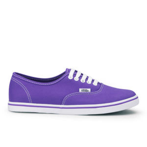 Vans Women's Lo Pro Neon Trainers - Electric Purple