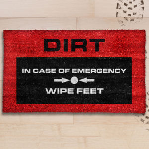 Emergency Door Mat