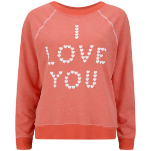 Wildfox Women's Little Heart Sweatshirt - Lifeguard