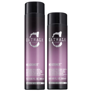 TIGI Catwalk Headshot Shampoo (300ml) and Conditioner (250ml)