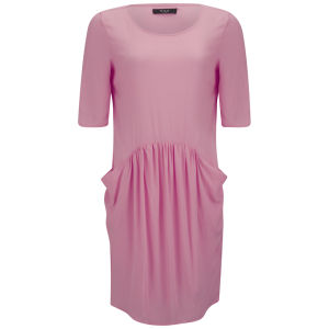 VILA Women's Vicat Dress - Peony