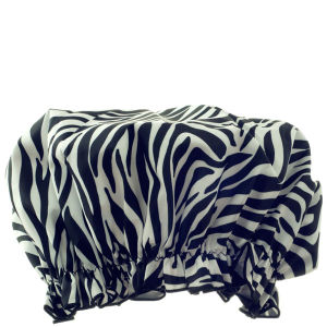 Hydrea London Eco Friendly Duschhaube - Zebra