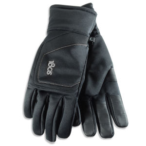 180s Men's Weekender Multi-layer Power Stretch Fleece Gloves - Black