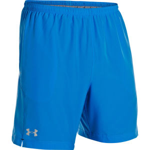 Under Armour Men's Escape 7 Inch Solid Shorts Electric - Blue/Black/Reflective