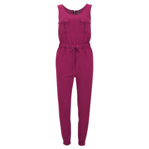 Influence Women's Fitted Jumpsuit - Pink