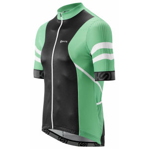 Skins Cycle Short Sleeve Jersey - Gottardo - Green/Black/White