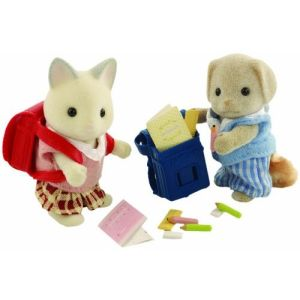 Sylvanian School Pupils Set