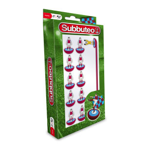 Subbuteo Claret and Blue Team Set