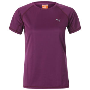 Puma Women's Drycell Running T-Shirt - Purple/Lilac