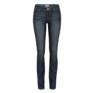 Paige Women's Skyline Straight Jeans - Finnley Blue