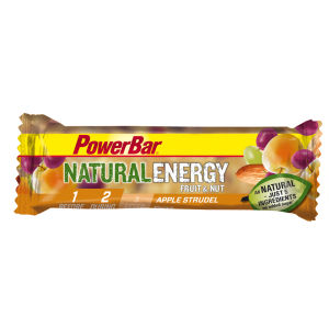 Powerbar Natural Energy  Fruit & Nut - Apple Strudel Box of 24