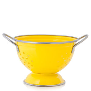 Cook In Colour Small Colander - Yellow