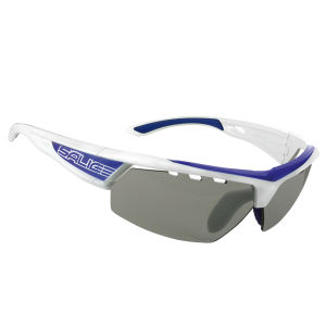 Salice 005 RWB Sports Sunglasses - White-Blue/Photochromic
