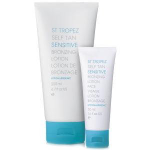 St. Tropez Self Tan Sensitive Face and Body Duo