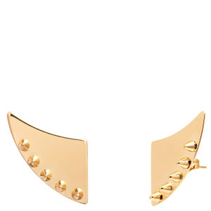 Maria Francesca Pepe Thorn Shaped Earrings - Gold