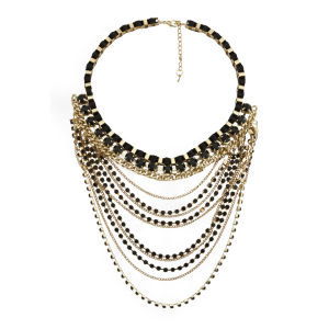 Impulse Women's Chains Necklace - Gold