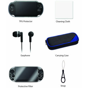 Hori: PS Vita Elite Accessory Pack